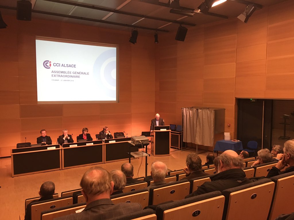 Les cci de strasbourg colmar et mulhouse se regroupent for Chambre de commerce mulhouse