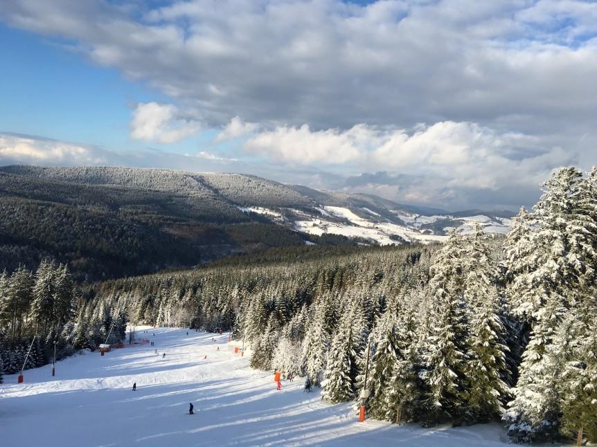 Stationd e ski du Lac Blanc en Alsace