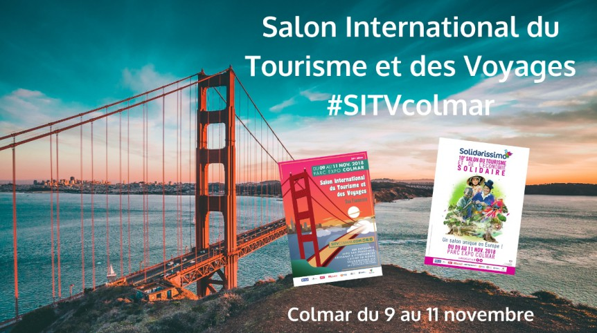 SALON INTERNATIONAL DU TOURISME ET DES VOYAGES DE COLMAR 2018