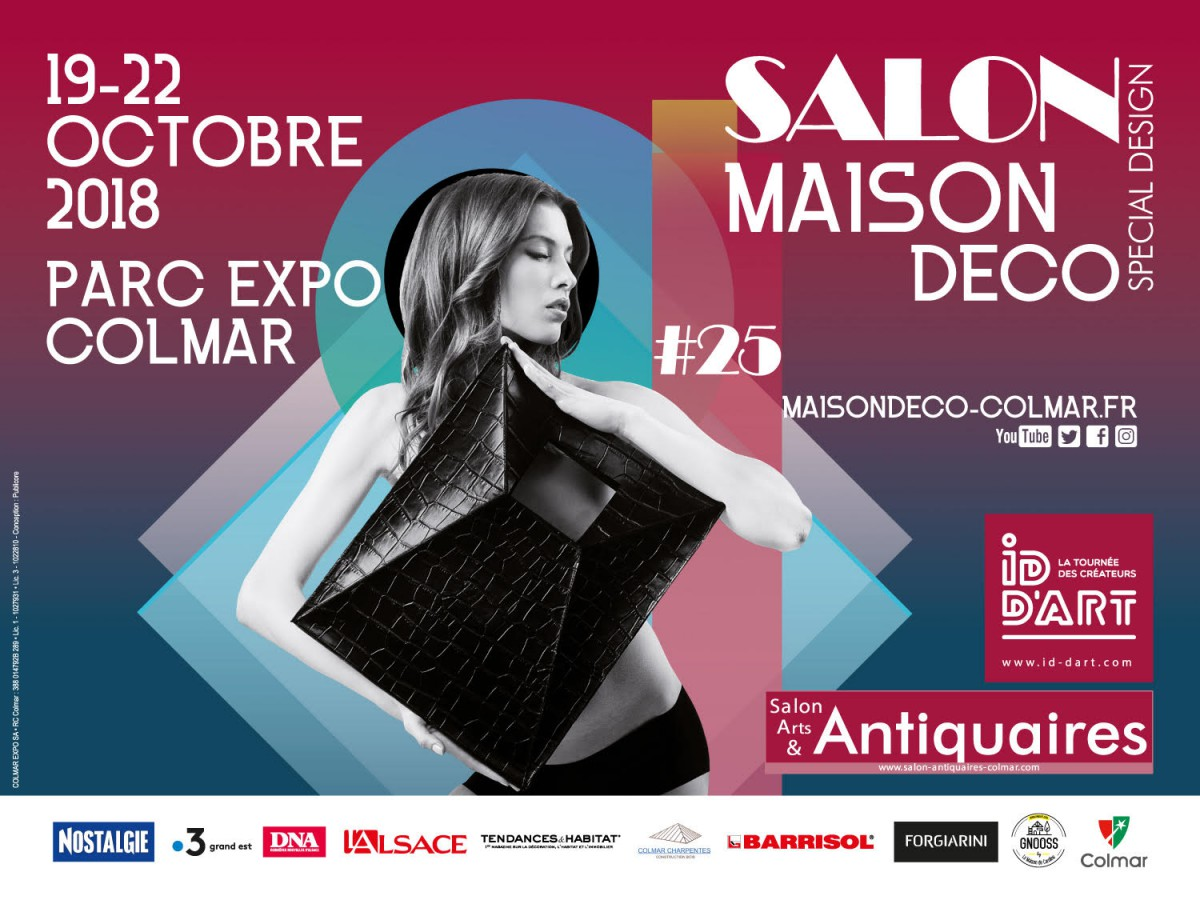 Affiche salon-maison-decoration Colmar 2018