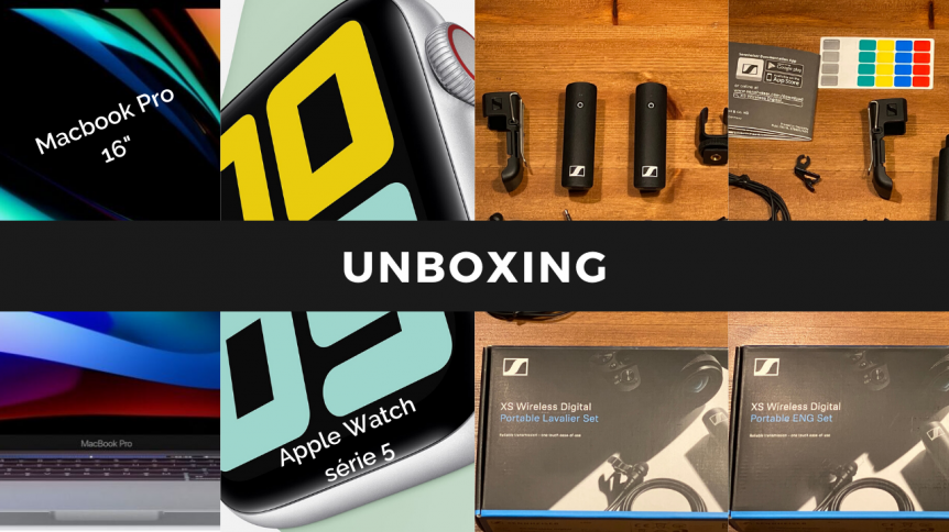 UNBOXING-macbookpro-16-apple-watch-sennheiser-XS-wireless-digital