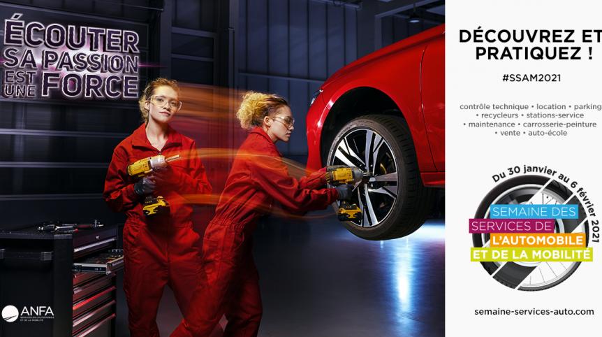 métiers de l'automobile ssam2021