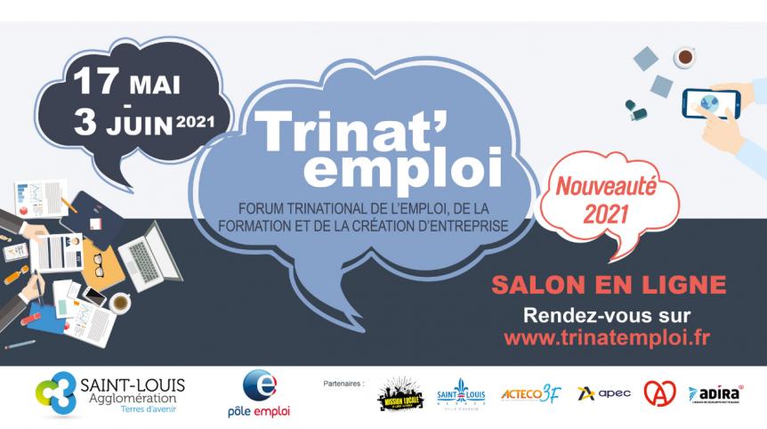trinat-emploi salon emploi formation création d'entreprise Saint-Louis Sud Alsace